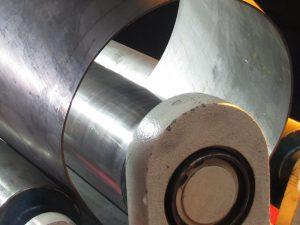 Einrollen, Bleche einrollen, Blechtechnik, Metall-Auer