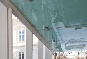 Glasgeländer, Geländer, Treppen